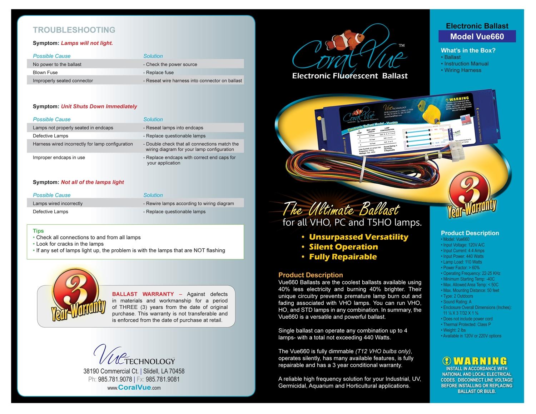 icecap 660 t5 vho electronic ballast 120vac 60hz rh aquariumspecialty com